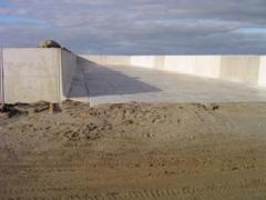 Concrete AGRI walls:
