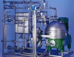 High purity stainless steel piping and skids