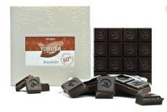 Chocolat noir grand cru du ghana 60% de cacao.