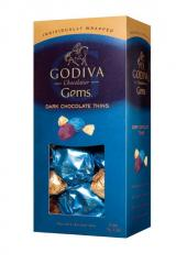 Dark Chocolate Thins Gems  30 pcs
