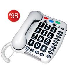 Téléphone correcteur de réception et d'émission