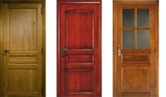 Portes intérieures massives Tradition