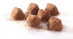 Truffes belges au cacao