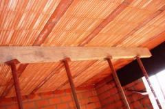 Floor beams for houses