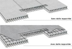 Prestressed hollowcore slabs