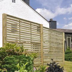 Φράχτες ξύλινοι για το εξοχικό