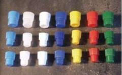 High Grip Test Tubes Stoppers Closed At The Bottom
