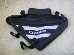 Triangle battery bag Crystalyte