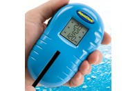 Apparatuur voor het testen van water in de