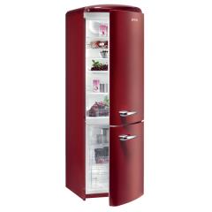 Réfrigérateur. Upside down / combiné inversé. Upside down red
