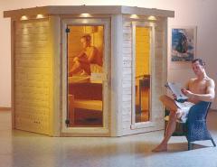 Sauna en bois massiv Nordia Cosmo