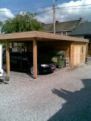 Carport et abri toit plat