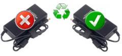 Chargeur adaptateur AC DC compatible et original