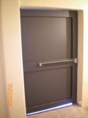 Portes métallique simple et double