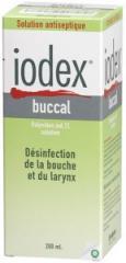 Soins de la bouche et de la gorge Iodex® Buccal