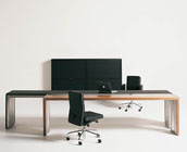 """Executive Desk """"DOUBLE YOU"""" by"""