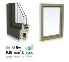 Fenêtres PVC design mouluré