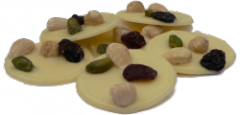 Mendiants Chocolat Blanc
