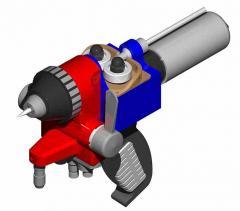 Spray guns >> HVOF WIRE ZINC SPRAY