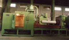 Turnkey systems Automatic Blasting And Spraying Rolls