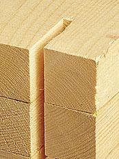 Assortiment de bois de construction