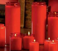 Novena candles