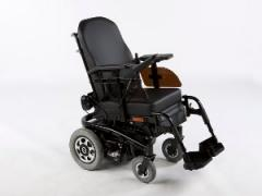 Wheelchairs compact and extremely manoeuvrable.