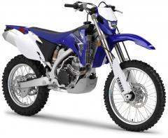 Moto enduro Yamaha WR450F