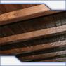 Wooden interior beams