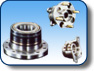 Wheel bearings 2nd and 3th generation for hubs.