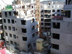 Voiles de façade en beton