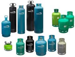 Bouteilles de gaz à usage domestique