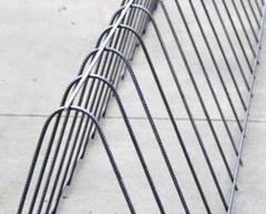 Folding of wire net