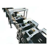 Conveyor continuous-motion accumulation