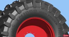 Pneus pour tracteurs