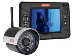 Caméra d'extérieur IR sans fil avec écran TFT