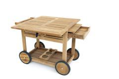 Chariot en bois Valence
