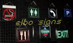 Edge Lit LED signs