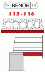 Éléments de plancher en béton armé avec fond isolé