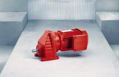 Motoréducteurs à engrenages cylindriques série R