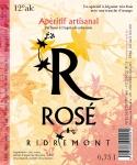 Le vin Ridremont rosé