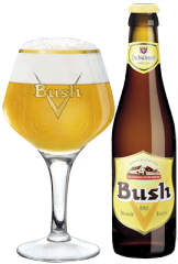 Bière Bush blonde