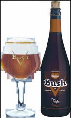 Bière Bush ambrée triple