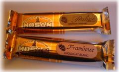 Bâtons de chocolat artisanal Mosan