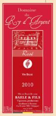 Vin rosé 2010 du Domaine du Ry d'Argent