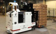 Automated guided vehicles for receiving &