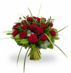 Bouquet Rosa Red