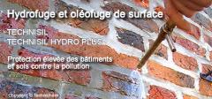 Hydrofuge pour façades TECHNISIL