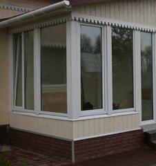 Châssis PVC pour verandas