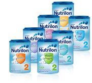 Alimentation au biberon Nutrilon